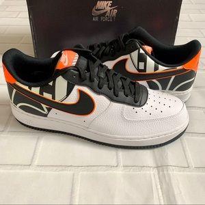 New Men's Nike Air Force 1 '07 LV8 US 11.5 AF1 BLK